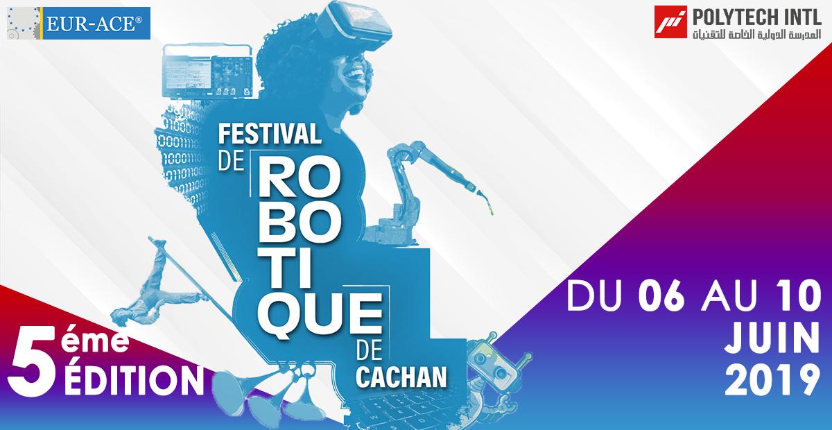 Club PI-Makers de POLYTECH INTL au Festival de Robotique de Cachan, Paris