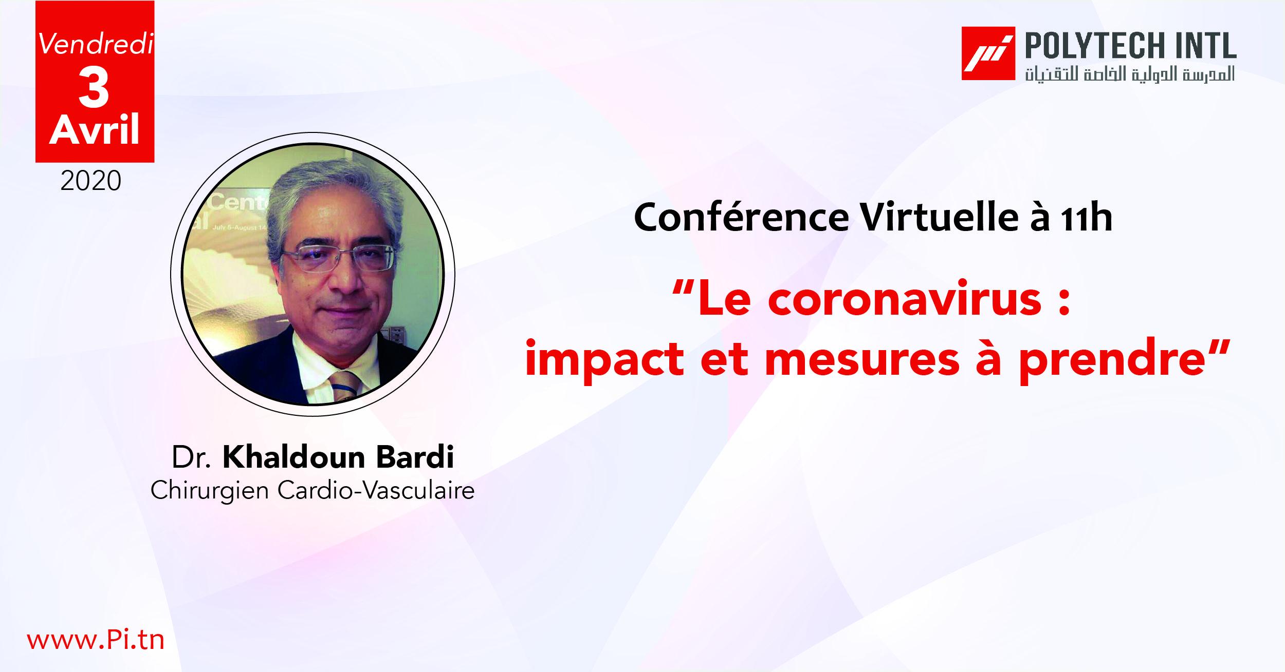 Le coronavirus : impact et mesures à prendre
