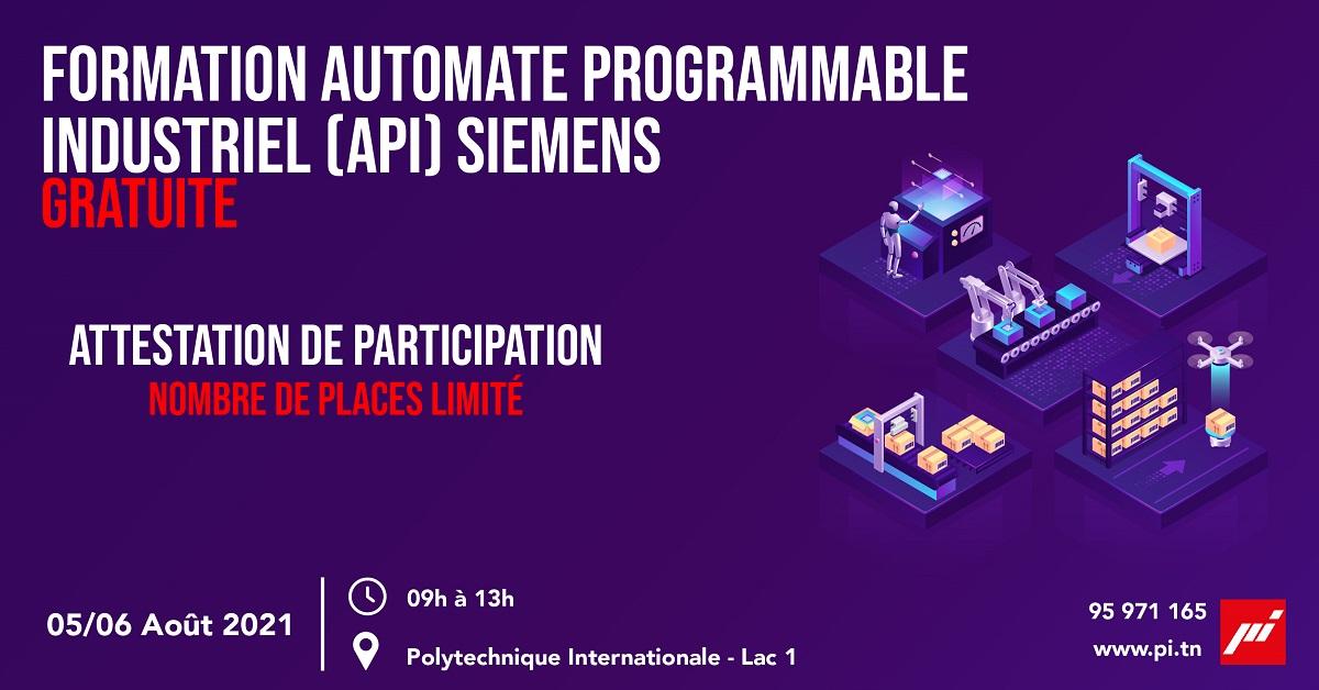 Formation Automate Programmable Industriel (API) Siemens